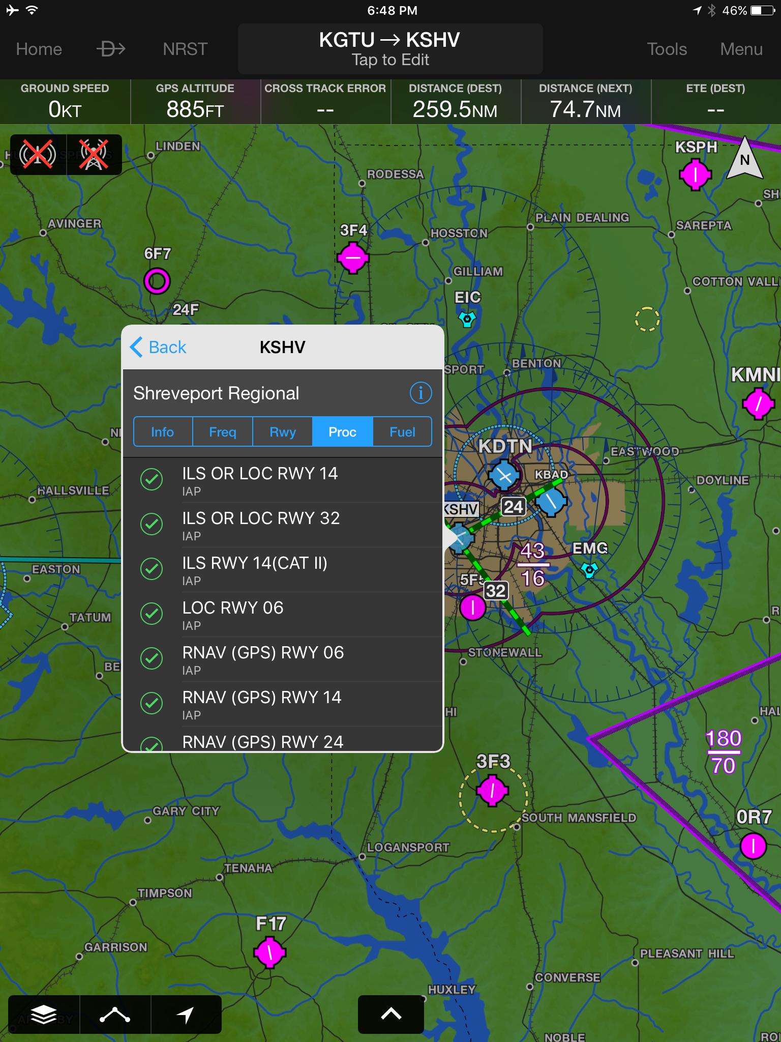 garmin pilot s latest update matches foreflight s on map. Black Bedroom Furniture Sets. Home Design Ideas